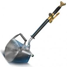 Хоппер ковш для стен Е-01 c ручкой (бункер из нержавейки)